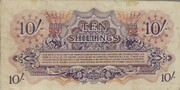 10 Shillings - British Armed Forces (1st series) – reverse