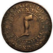 ½ Penny (Middlesex - Hatfield's) – obverse