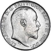 1 Florin - Edward VII -  obverse