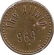 1 Penny - The Allwin – obverse