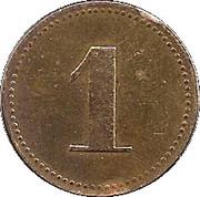 1 Penny - The Allwin – reverse