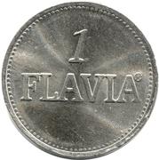 1 Flavia (Vending Machine Token) – reverse