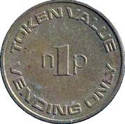 1 New Penny (Vending Token) – obverse