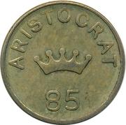 6 Pence - Aristocrat (85) – obverse