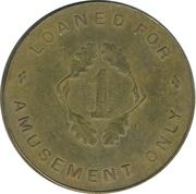 1 Penny - R&W – reverse