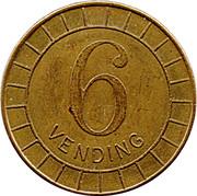 6 Pence - R&W (Vending) – reverse