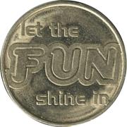 Amusement Token - Let the Fun Shine in – obverse