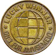 Game Token - Lucky Winner (24.5 mm) – obverse