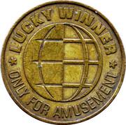 Game Token - Lucky Winner (24.5 mm) – reverse