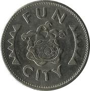 Amusement token - Fun City – reverse