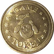 Game Token - No cash value – obverse