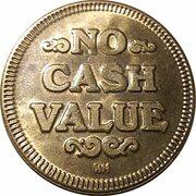 Game Token - No cash value – reverse