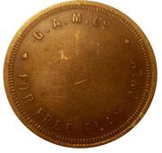 Game Token - GAM & Co. (Glasgow, Scotland; 30 mm) – obverse