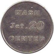 Car Wash Token - Wash jet. 20 center – obverse