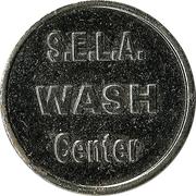Car Wash Token - S.E.L.A. Wash Center – reverse