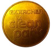 Car Wash Token - Kärcher Clean Park (Pitsea, Essex) – reverse