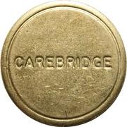 Car Wash Token - Carebridge (Redruth, Cornwall) – obverse