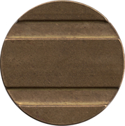 Blank Token (with 2/1 grooves; 27 mm) – obverse