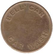Car Wash Token - Bell' Car (Whiteley) – obverse