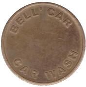 Car Wash Token - Bell' Car (Whiteley) – reverse