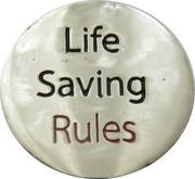 Shopping Cart Token - ConocoPhillips (Life Saving Rules - Driving) – reverse