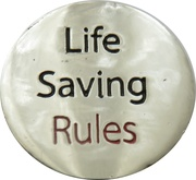 Shopping Cart Token - ConocoPhillips (Life Saving Rules - Excavation) – reverse