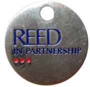 Shopping Cart Token - Reed in Partnership – obverse