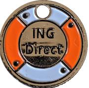 Shopping Cart Token - ING Direct – obverse