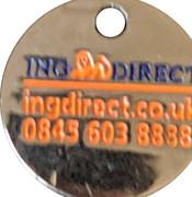 Shopping Cart Token - ING Direct – reverse