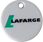 Shopping Cart Token - Lafarge Mountsorrel Quarry 2012 – obverse