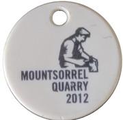 Shopping Cart Token - Lafarge Mountsorrel Quarry 2012 – reverse