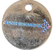 Shopping Cart Token - Cancer Research UK – obverse