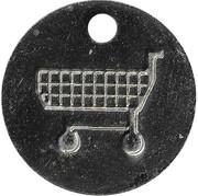 Shopping Cart Token - Lucky Clover – reverse