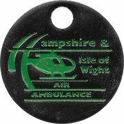 Shopping Cart Token - Air Ambulance (Hampshire & Isle of Wight) – obverse