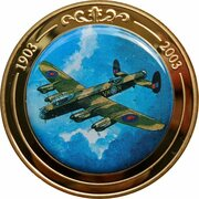 Token - 100 Years of Flight (#11b - Avro Lancaster) -  obverse