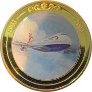 Token - 100 Years of Flight (#03a - Boeing 747 Jumbo Jet) -  obverse