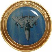Token - 100 Years of Flight (#11a - Grumman F-14 Tomcat) -  obverse