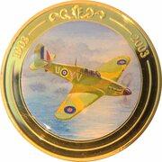 Token - 100 Years of Flight (#06a - Hawker Hurricane) -  obverse
