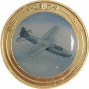 Token - 100 Years of Flight (#10a - Heinkel He 178) -  obverse