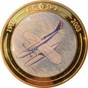 Token - 100 Years of Flight (#03b - Supermarine S.6B) -  obverse