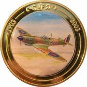Token - 100 Years of Flight (#08b - Supermarine Spitfire) -  obverse