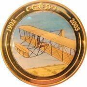 Token - 100 Years of Flight (#01b - Wright Flyer) -  obverse