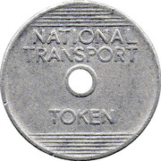 3 Pence - National Transport Token – obverse
