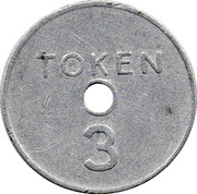 3 Pence - National Transport Token – reverse