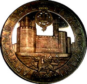 Medallion - Investiture of Prince Charles – reverse