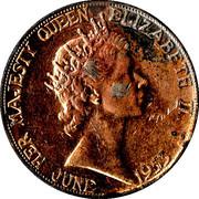 Medallion - Elizabeth II Coronation – obverse