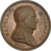 Medal - Napoleon Bonaparte Surrendered to HBMS Bellerophon – obverse