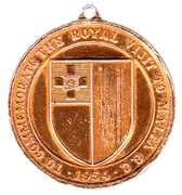 Medallion - Elizabeth II (The Royal Visit to Malta ) – reverse
