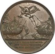 Medal - Defeat of the Spanish fleet at St. Vincent - John Jervis – reverse