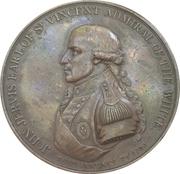 Medal - John Jervis, Earl St. Vincent (Victory at the battle of Cape St Vincent) – obverse